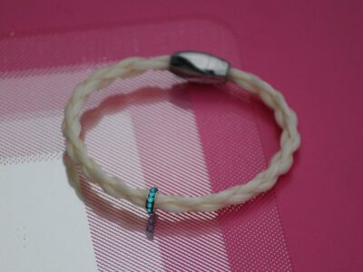 Pferdehaar Armband Strassperle
