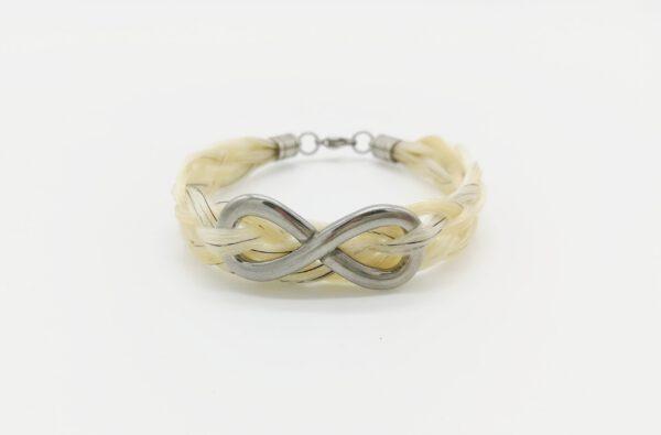 Armband Pferdehaar mit Infinity