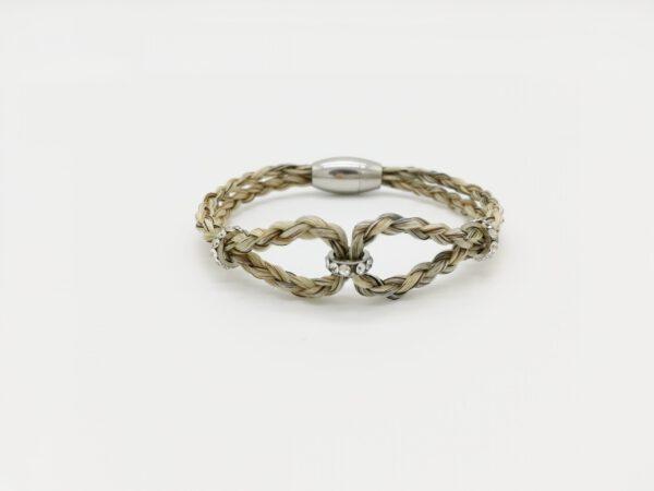 Armband Pferdehaar Infinity