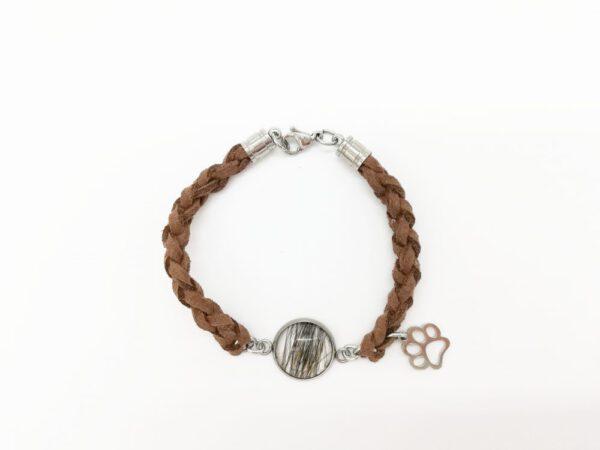 Armband Hundehaar