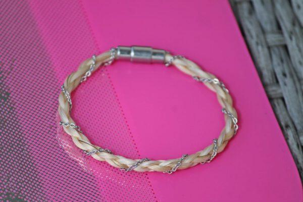 Pferdehaar Armband Kette