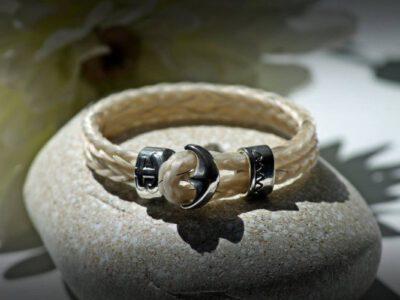 Armband aus Pferdehaar, Pferdehaarschmuck, Schmuck aus Pferdehaar