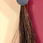 Schlüsselanhänger Pferdehaar Tassel mit Spruch
